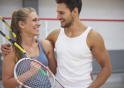 Squash Badminton