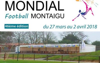 Mondial Football Montaigu: suivi de près par PLAYBOX !