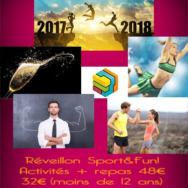 Nouvel An Sport&Fun ? Activités et bon repas !