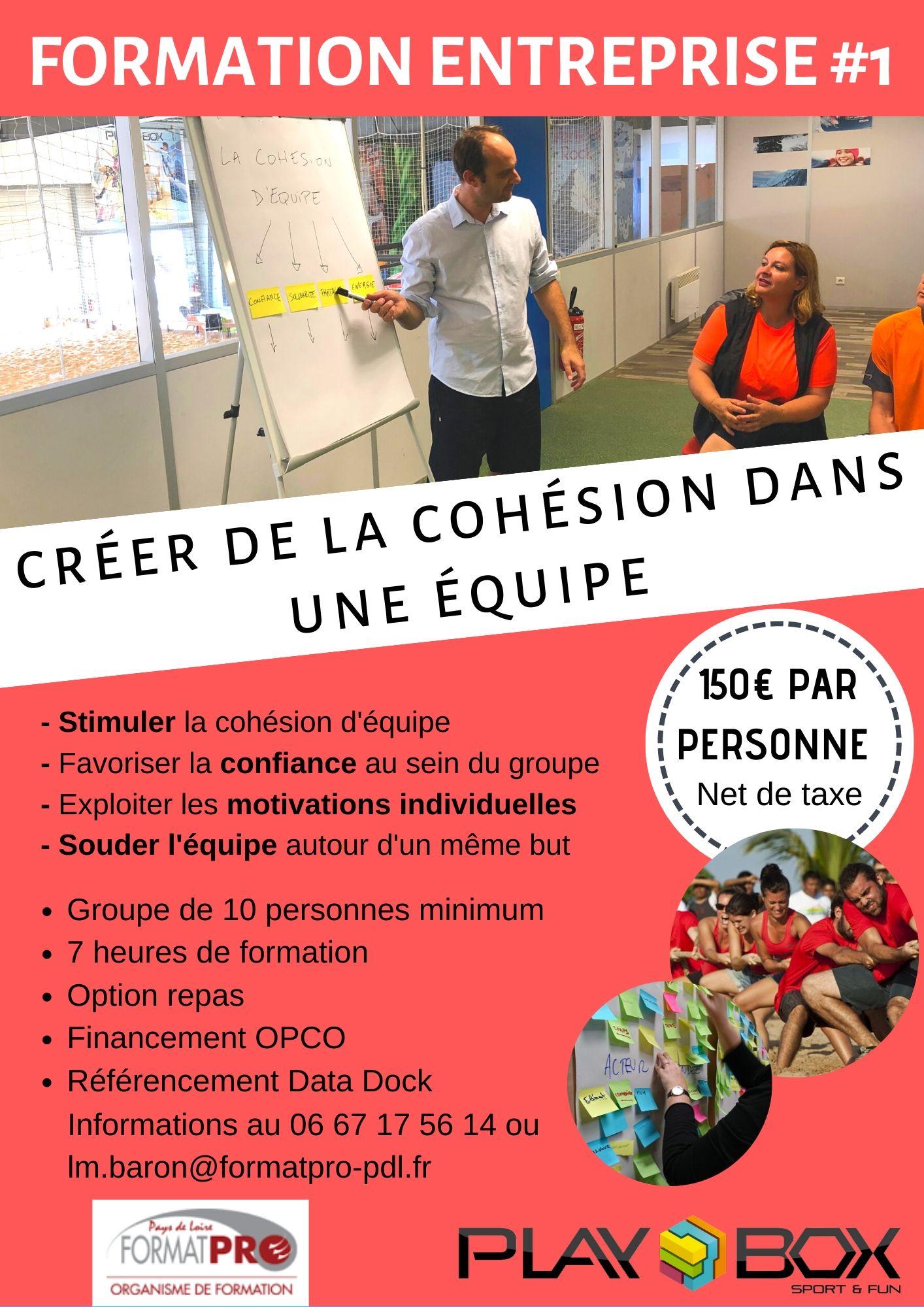 Formation entreprises La Roche sur Yon
